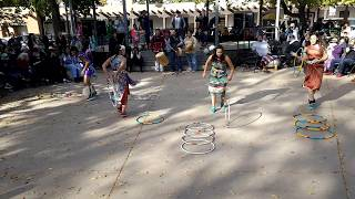 Indigenous Peoples Day Celebration 2017 Pueblo of Pojoaque Dancers and Youth Hoop Dancers Clip 1