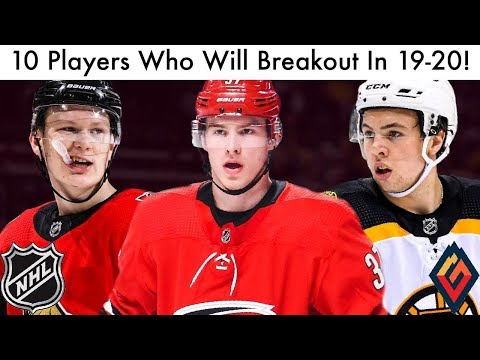 10 NHL Players Who Will Breakout In 2019-20! (Hockey Rankings/Lists & Season Trade Rumors Talk 2019)