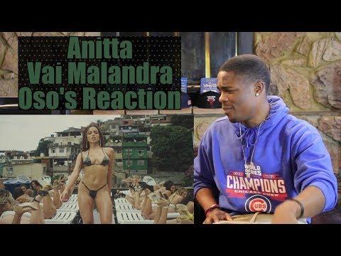 Anitta, Mc Zaac, Maejor ft.- Vai Malandra (Official Music Video) | Oso's Reaction