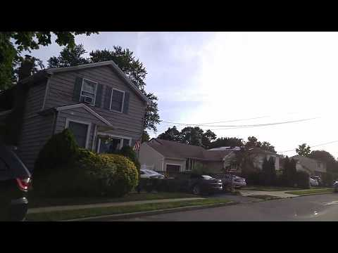 Driving from Wantagh to North Bellmore in Nassau,New York