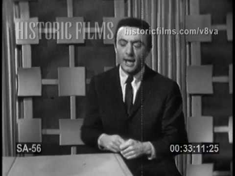 LENNY BRUCE ON THE STEVE ALLEN SHOW APRIL 5, 1959