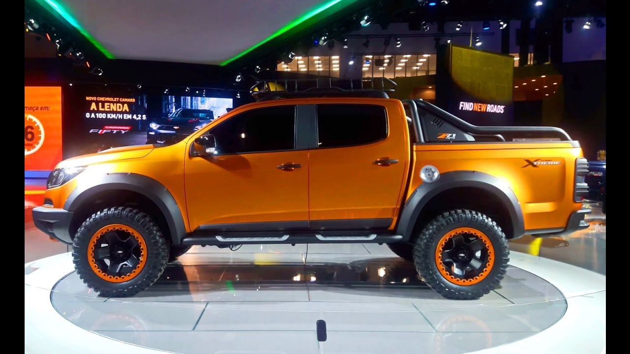 360° do Chevrolet S10 Extreme Concept - YouTube