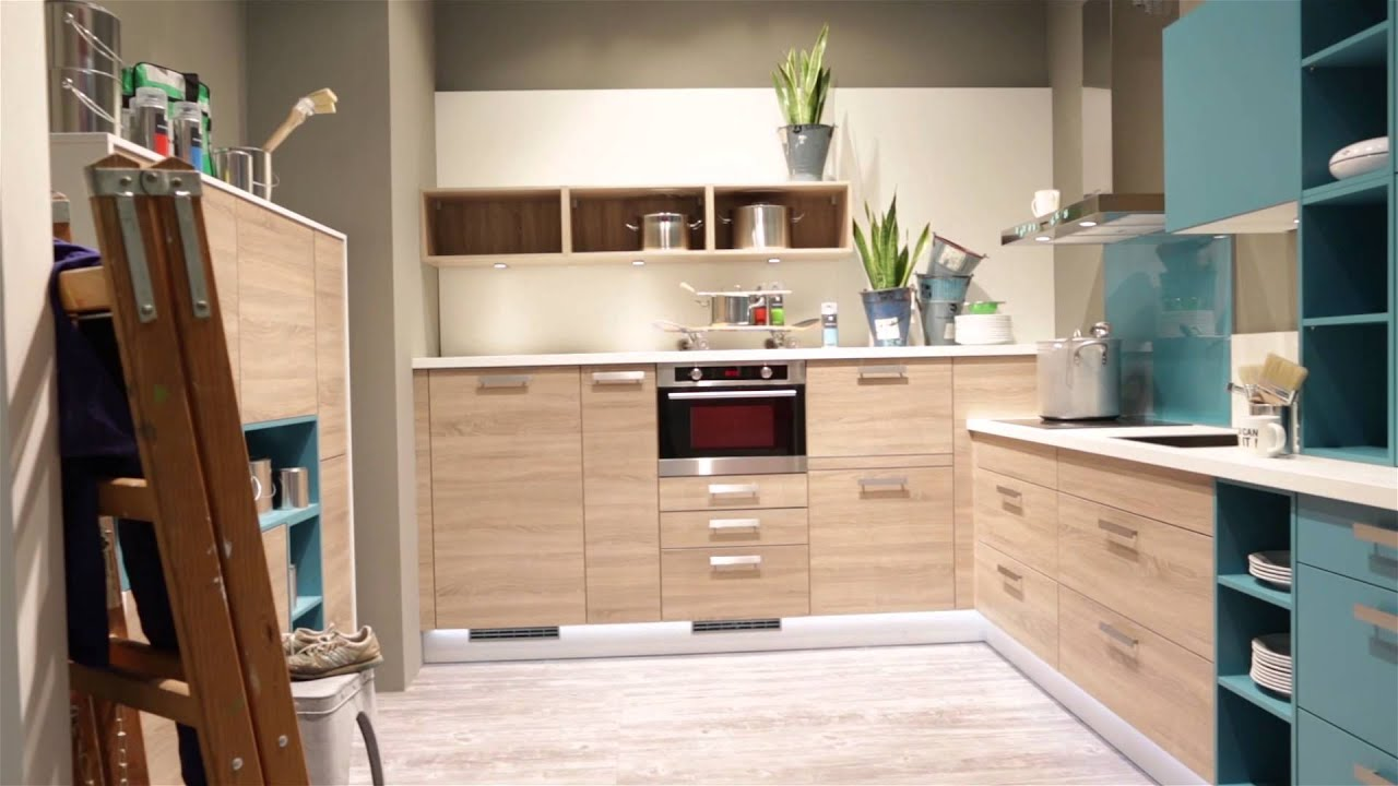 Express Küchen Living Kitchen 2015 IMM Nolte Group - YouTube