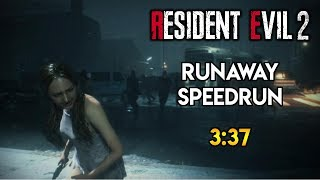 Resident Evil 2 Remake - Runaway DLC Speedrun - 3:37