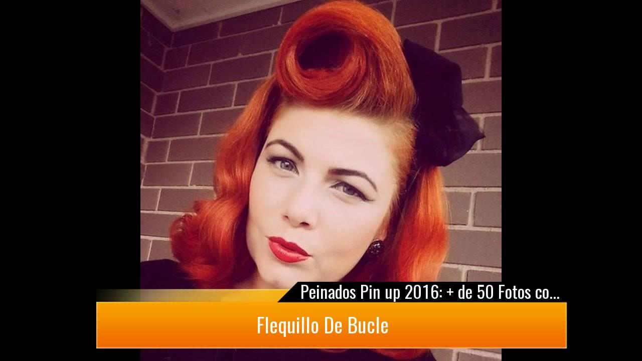 Peinados pin up 2017 de 50 fotos con ideas youtube - Peinados pin up fotos ...