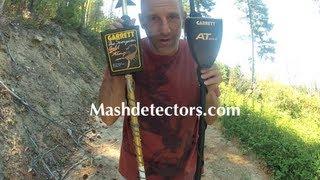 Garrett AT Gold vs Garrett Scorpion Gold Stinger on Small Gold Nuggets