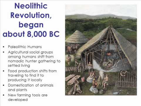 Early Man to Neolithic Communities