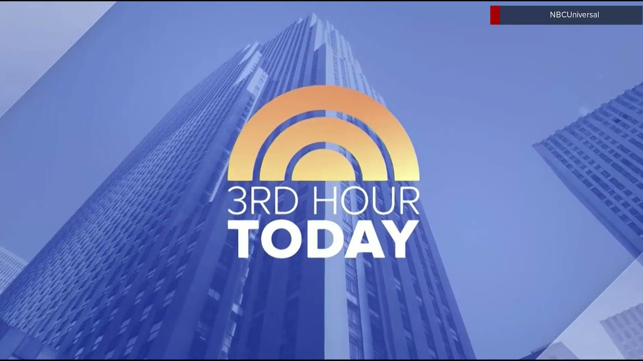 NBC News 'Today 3rd Hour' new open May 3, 2021