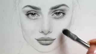 رسم وجوه بقلم الرصاص Mp3