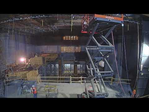 Alliance Theatre Renovation 11 Month Time-lapse