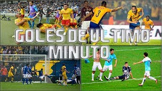 Goles Epicos De Ultimo Minuto En La Liga Mx