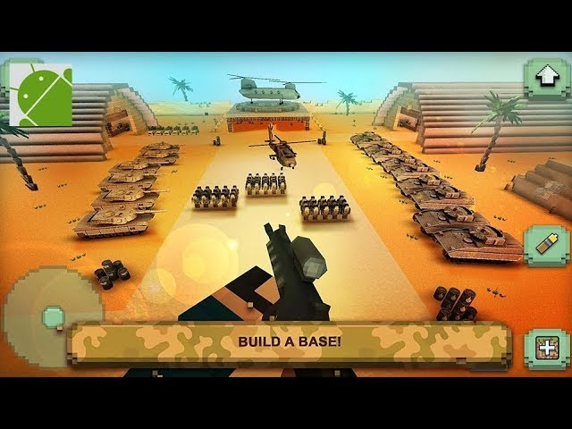 Call of Craft: Blocky Tanks Battlefield - Android Gameplay HD