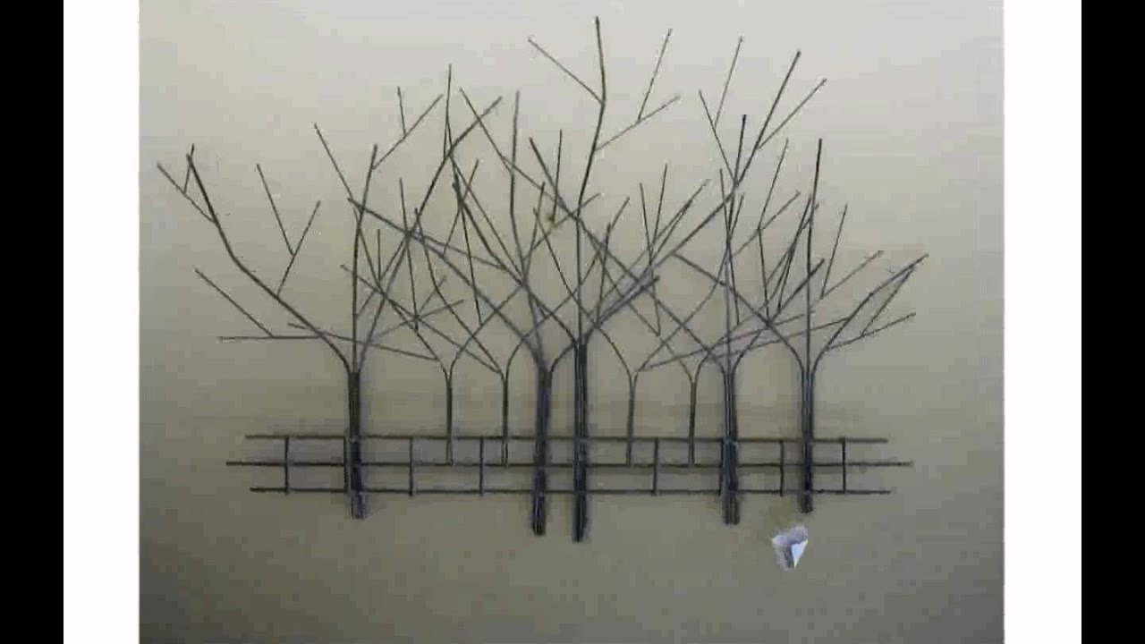 Wall Art Trees tree wall art - youtube