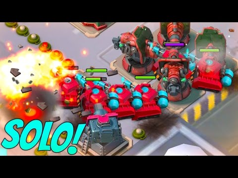 Boom Beach Scorcher Operation Solo in Dead End! Reject Redux Task Force! - 동영상