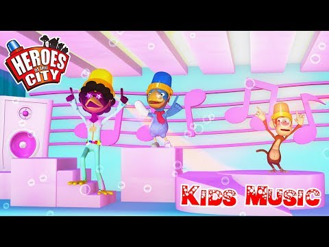 Kids Songs | Sing and Dance with Calamity Crow - Heroes of the City | ♫