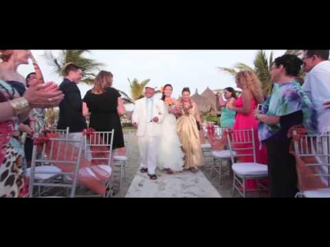 Best Beach Wedding Video Cartagena Colombia