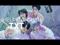 UPDATED THE ULTIMATE HELPFUL GUIDE TO TXT txt universe, members, group info, and fandom