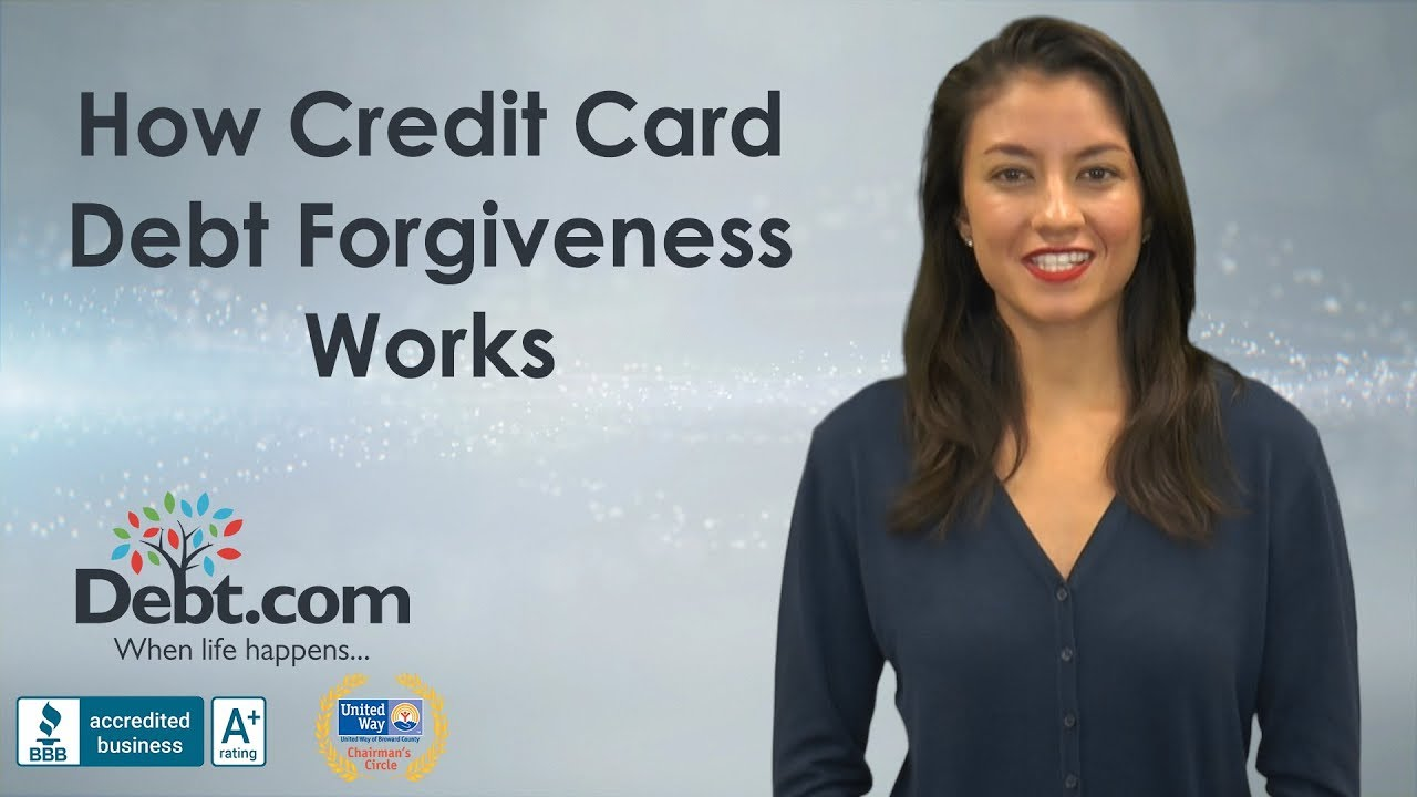 A realists guide to credit card debt forgiveness debt debt forgiveness is possible but you need to be pragmatic and understand you usually dont get something for nothing video transcript how credit card reheart Choice Image