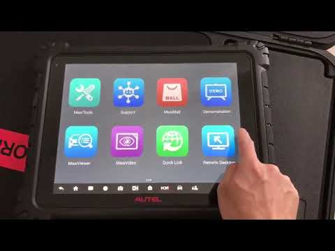 REVIEW Autel MaxiSys Ultra Scan Tool | AUTEL EUROPE - YouTube