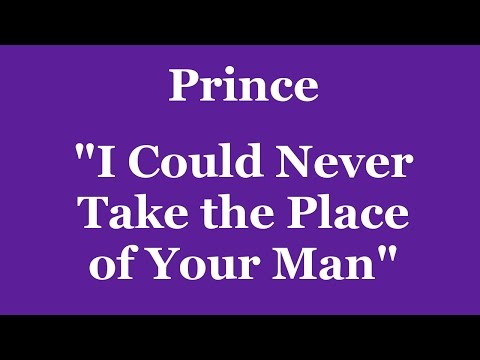 Prince - I Could Never Take the Place of Your Man drum cover