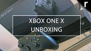 Xbox One X Unboxing (UK model)