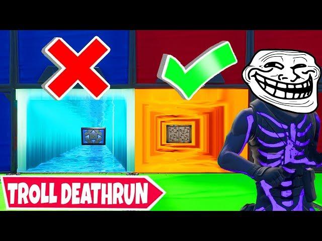 Wir versuchen den EVIL *TROLL* Deathrun in Fortnite!