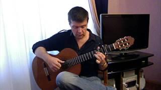 Siguiriyas (by M. Granados). Flamenco guitar V. Sharii.