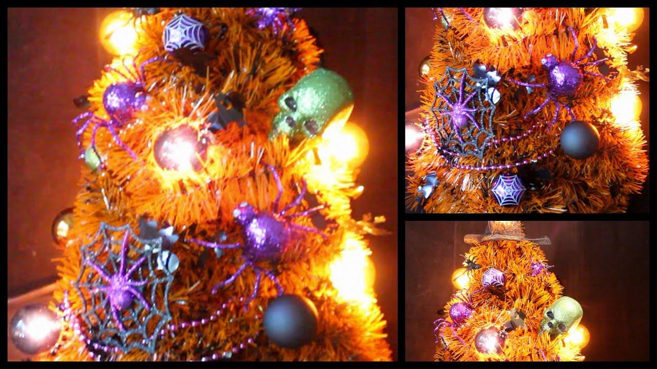 diy halloween room decor tree youtube - Halloween Room