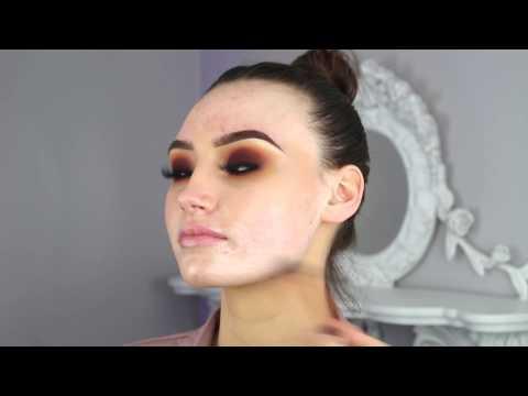 SUNSET -  (Blown Out Makeup Look)