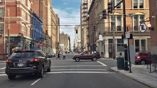 Driving Downtown - City Center - Cincinnati Ohio USA
