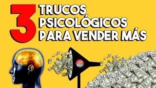 3 TRUCOS PSICOLÓGICOS PARA VENDER MÁS | Sesgos cognitivos que aumentarán tus ventas