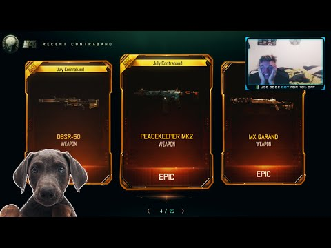 "DOG GETS 3 NEW DLC GUNS IN 1 ""TRIPLE PLAY"" BRIBE OPENING! OPENING TWO ""TRIPLE PLAY"" WEAPON BRIBES!"