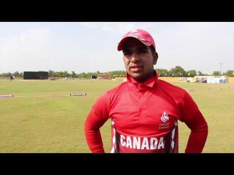 Arslan Khan Post Match Quotes Bermuda v Canada July 15, 2016