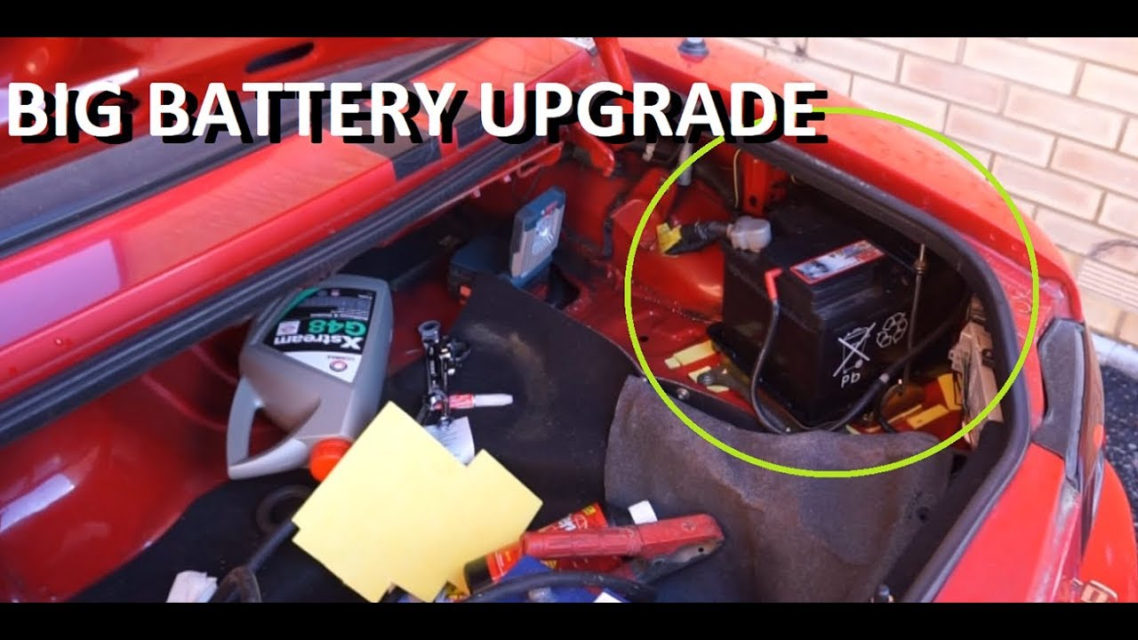 Mazda Miata Mx5 Battery Upgrade Restoration
