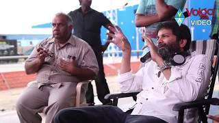 Trivikram Srinivas & Samantha MAking Video