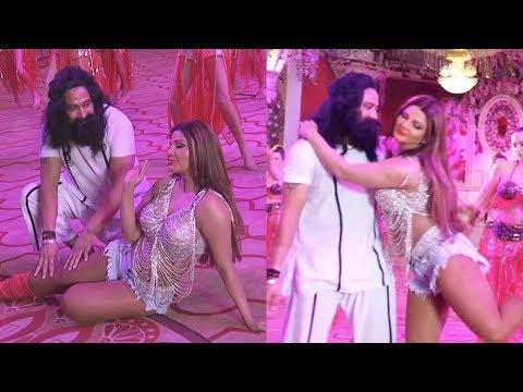 Rakhi Sawant Romance With Baba Ram Rahim Video LEAKED