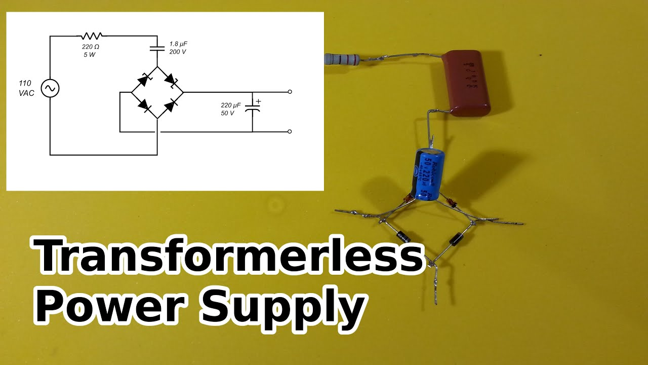 Transformerless Power Supply YouTube