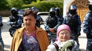 Обыск в домах крымских татар в Бахчисарае. 12.05.2016