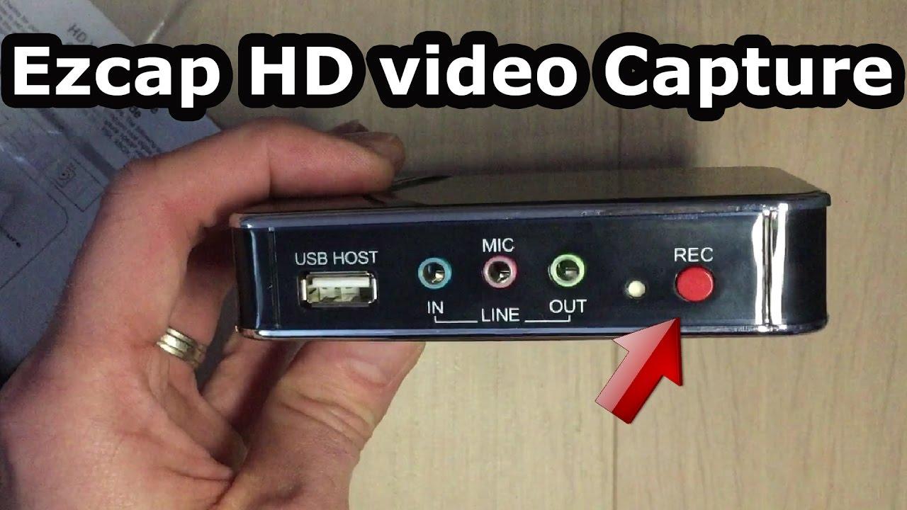 Test ezcap 280 comment filmer facilement l 39 cran de son for Tester son ecran pc