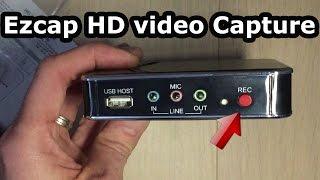 Test Ezcap 280 : comment filmer facilement l'écran de son pc ou console