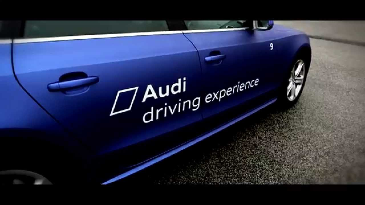 audi driving experience 2015 youtube. Black Bedroom Furniture Sets. Home Design Ideas