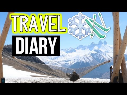 TRAVEL DIARY: The Alps of French - Les Sybelles! Amazing Ski Trip! 2017