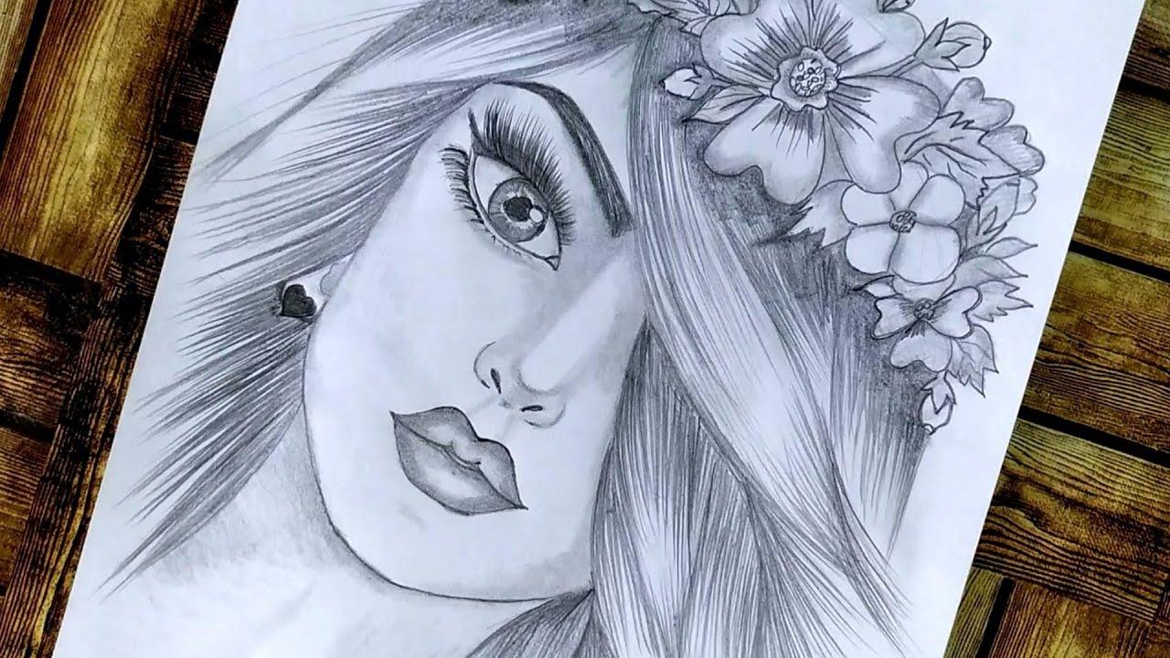 رسم بنات رسم بنت كيوت بطريقة سهلة رسم سهل Girl Drawing رسم بنات