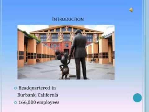 The Walt Disney Company: Fortune 500 Presentation