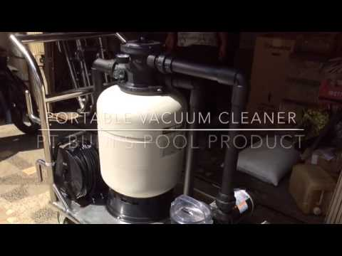 Pt Budi 39 S Pool Portable Vacuum Cleaner Mobile Youtube