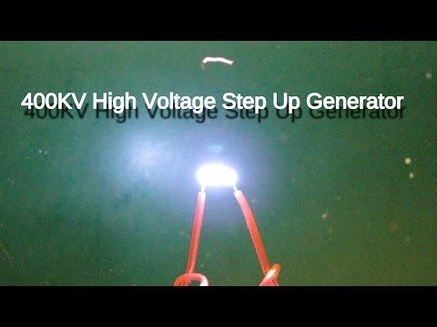400KV high voltage generator Demo
