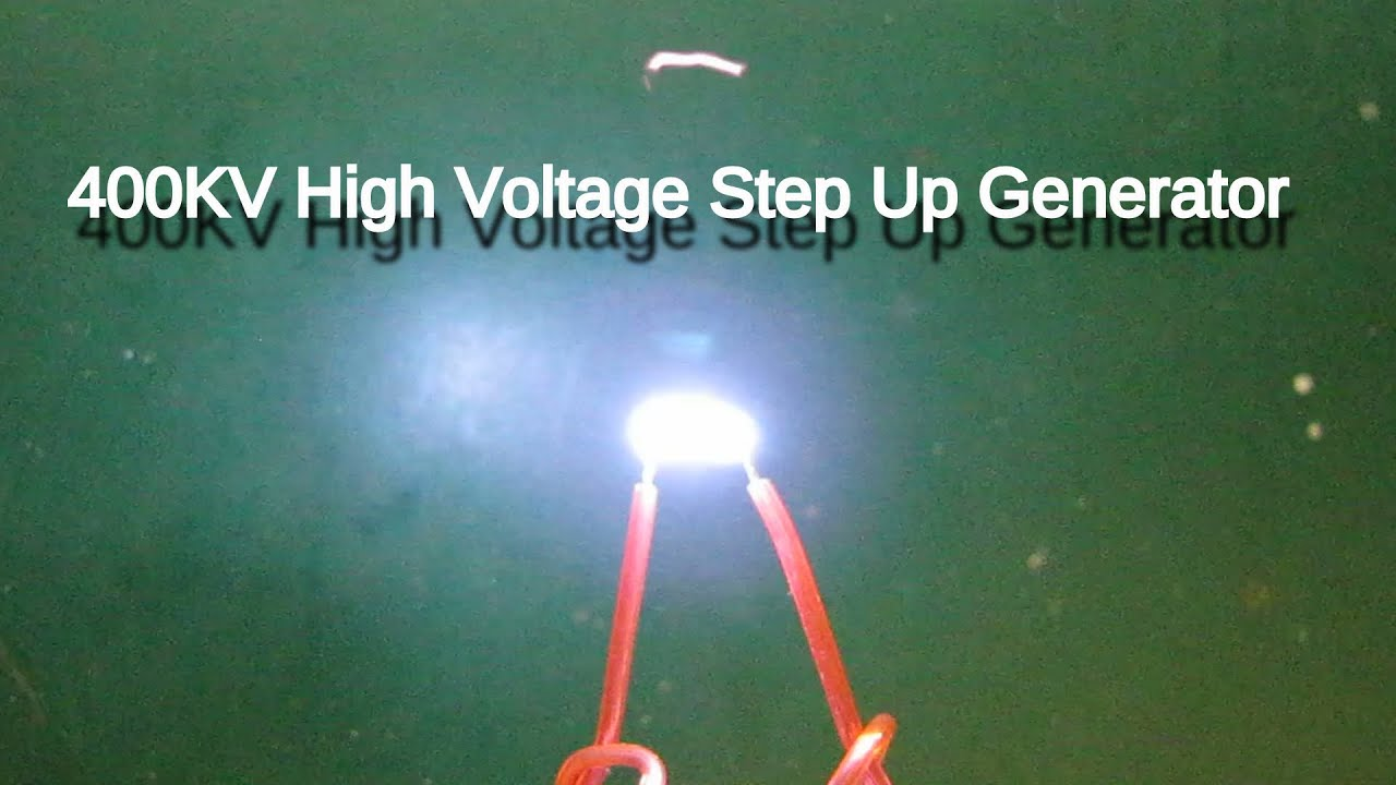 400kv High Voltage Generator Demo Youtube Circuit