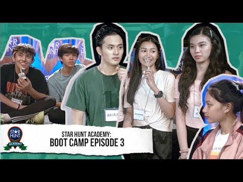 Star Hunt Academy Trainees nagpatuloy ang practice for the next round  Star Hunt Academy Boot Camp
