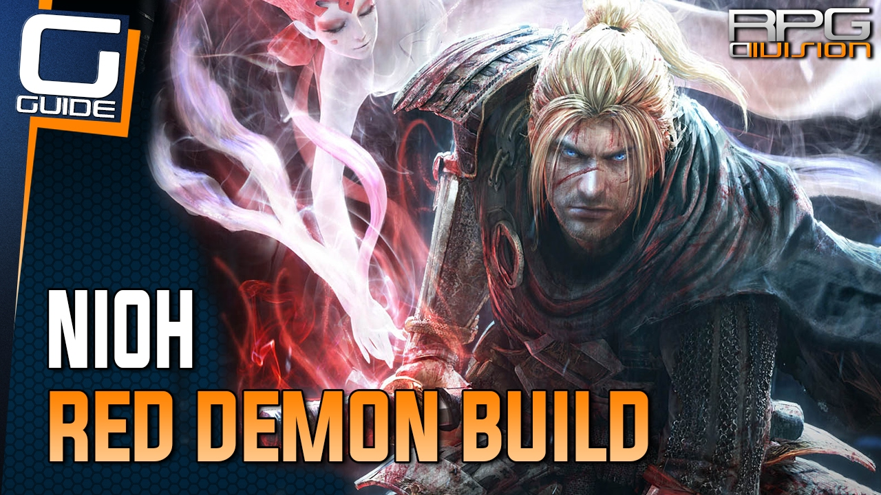 Nioh Best Build 2019 Nioh Guide   OP Red Demon Spear/Magic Build   YouTube
