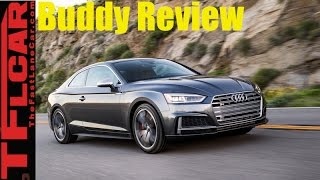 2018 Audi S5 Buddy Review: Two Friends Drive And Review The New S5